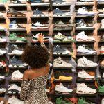 Handel stokami obuwie